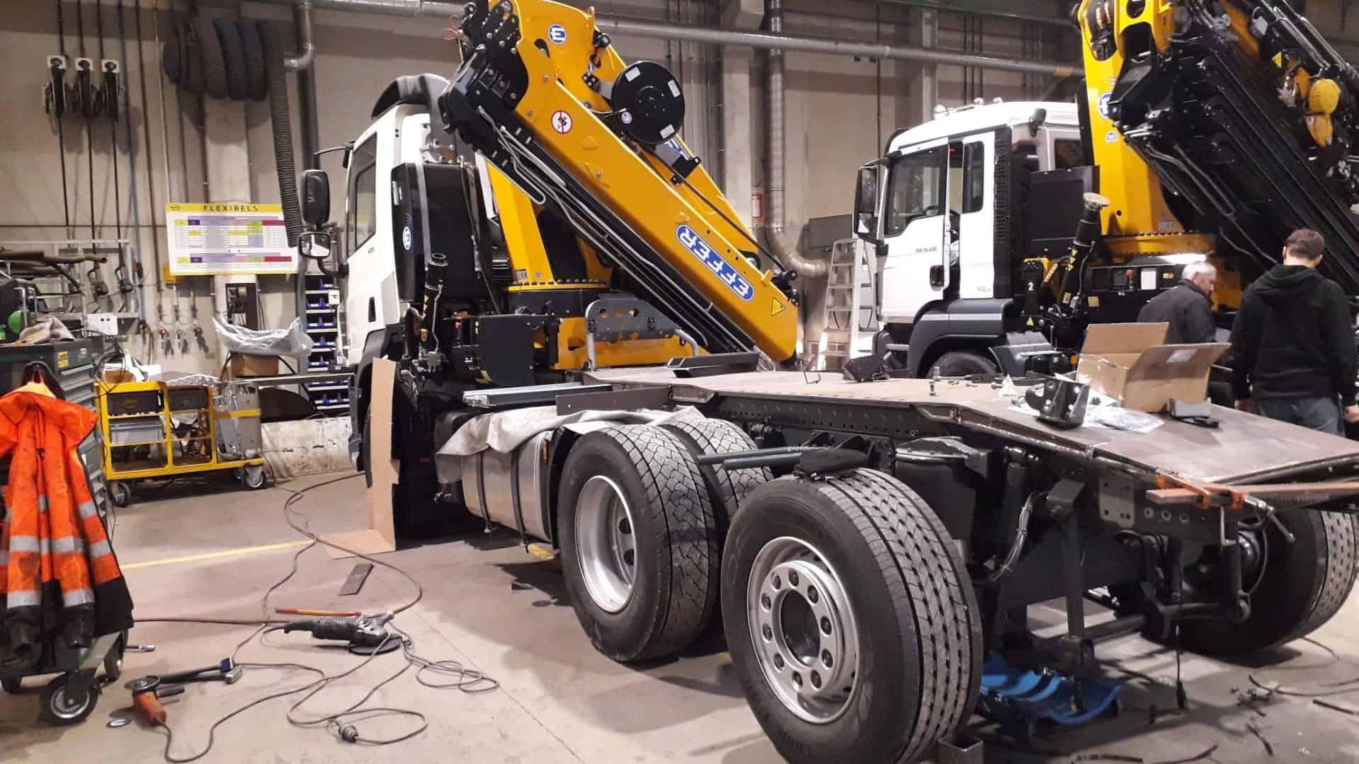 Van Meerbeeck investeert in nieuwe vrachtwagen